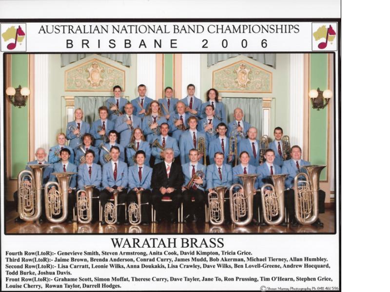 2006 - National Band Championships Brisbane