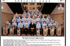 2005 - National Band Championships Adelaide