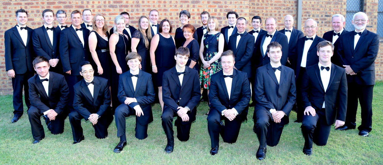 Members of Waratah Brass