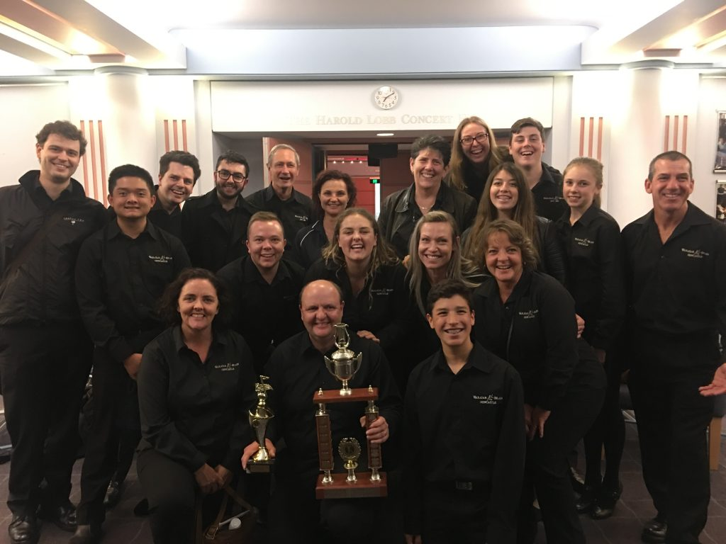 Waratah Brass wins 2017 East Coast of Australia Championships