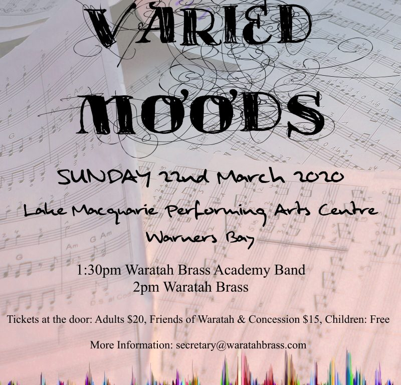 Waratah Brass Presents Varied Moods