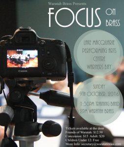 Focus on Brass – October 2016