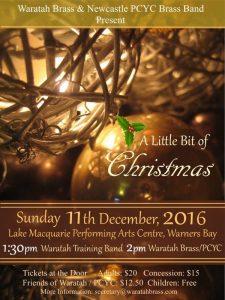 A Little Bit of Christmas – December 2016