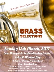 Brass Selections – March 2017