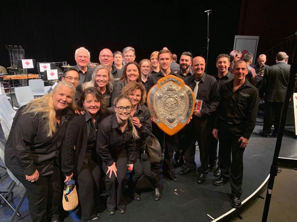Waratah Brass Win B Grade NSW Band Championships