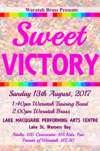 Sweet Victory Concert – August 2017