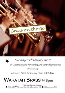 Brass on the Go Concert – March 2019