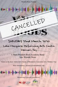 Varied Moods Concert – March 2020