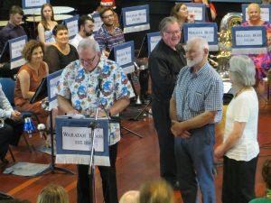 Waratah Brass Endorses New Life Member