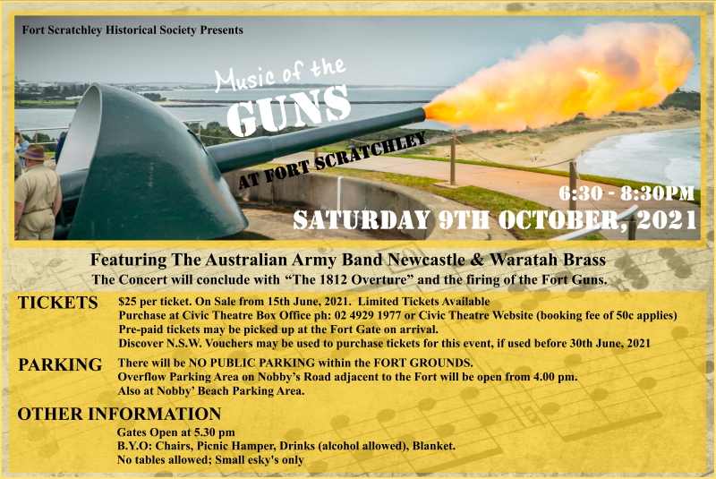 Music of the Guns @ Fort Scratchley